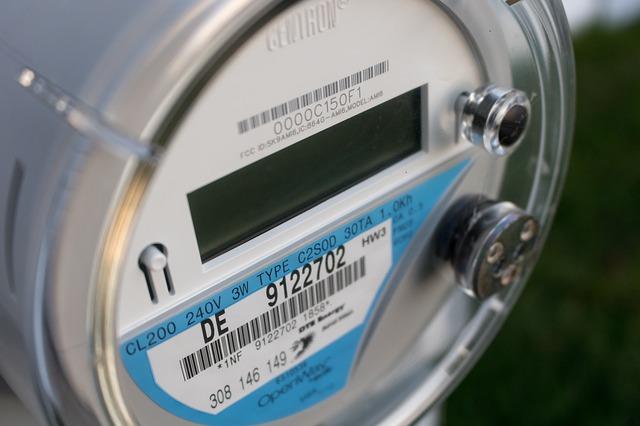 Digitale meter zonnepanelen